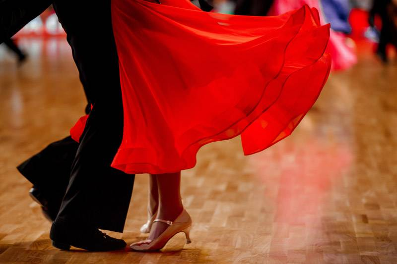 Ponuka tanečného programu a tanečných vystúpení