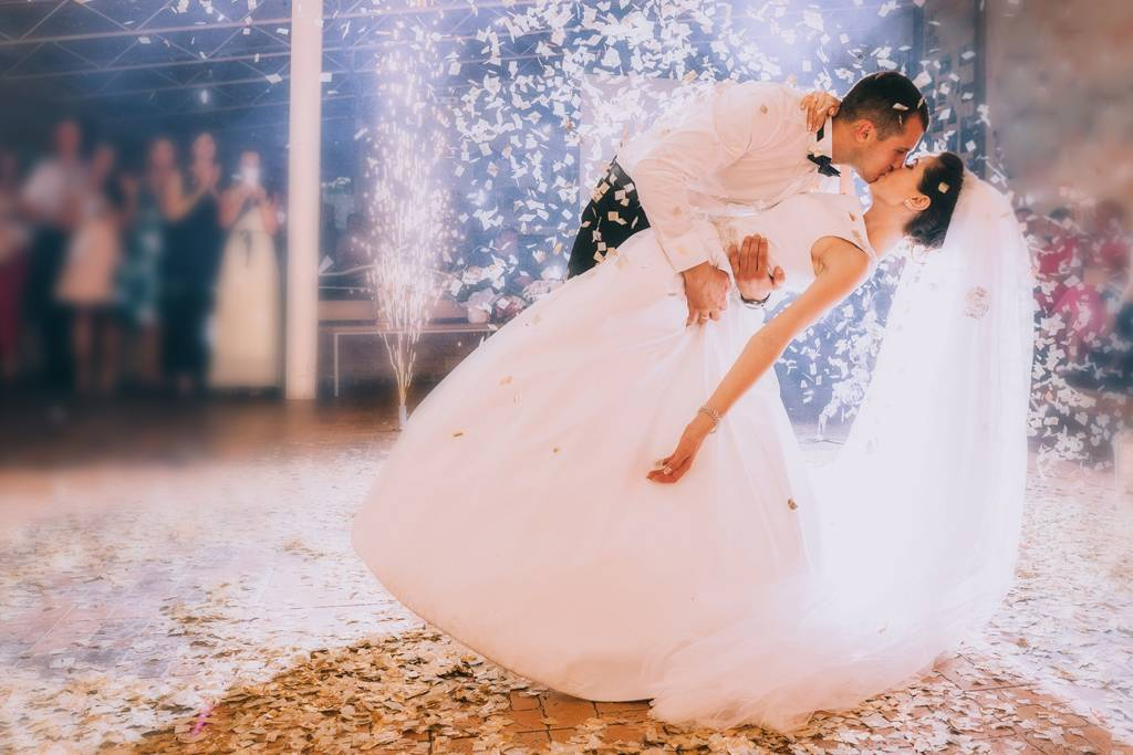 prvý svadobný tanec v Tanečnej škole Plešinger